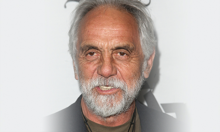 Tommy Chong smiling at event
