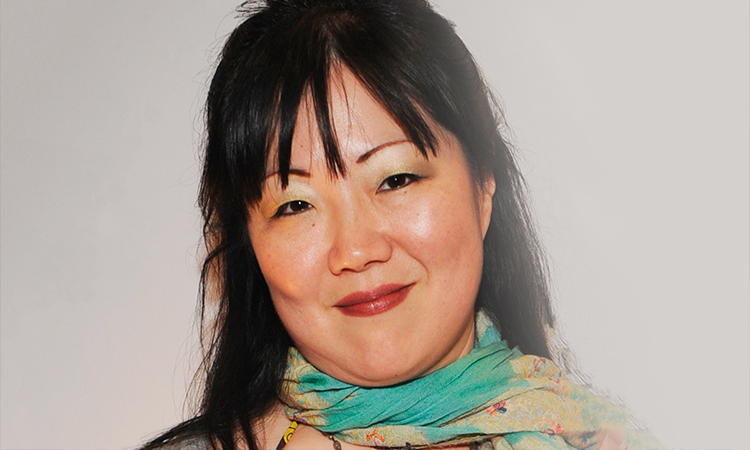 Margaret Cho smiling at event