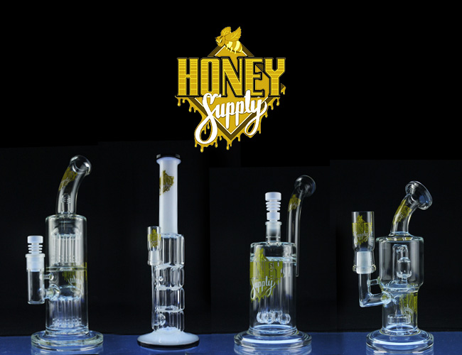 Honey Supply glass brand