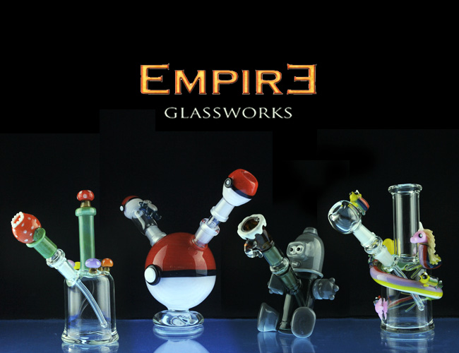 Empire Glassworks glass brand