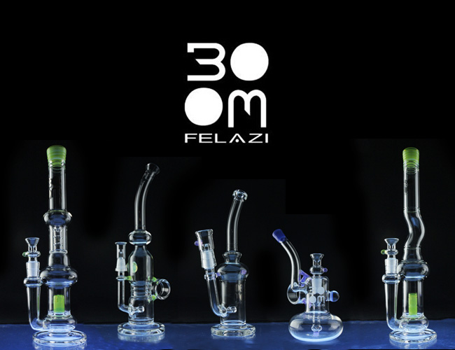 Boom Felazi glass brand
