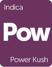 Leafly Power Kush cannabis strain tile
