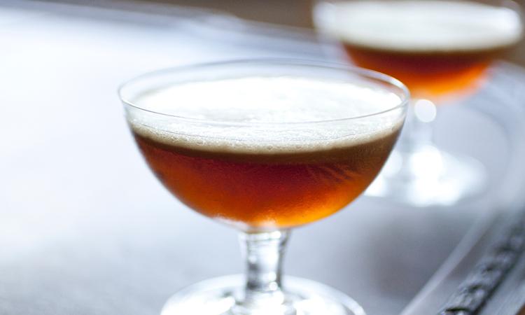 """Zip It"" craft cocktail"
