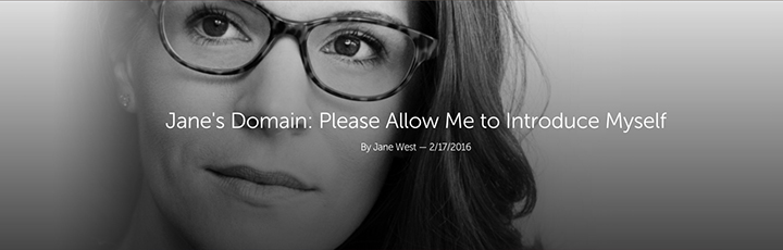 """Leafly """"Jane's Domain"""" Jane West Article Header"""