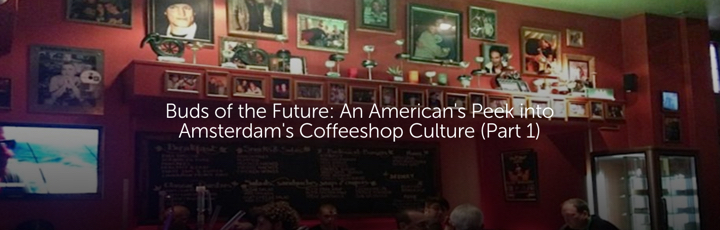 Buds of the Future: An American's Peek into Amsterdam's Coffeeshop Culture (Part 1)