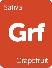 Leafly Grapefruit cannabis strain tile