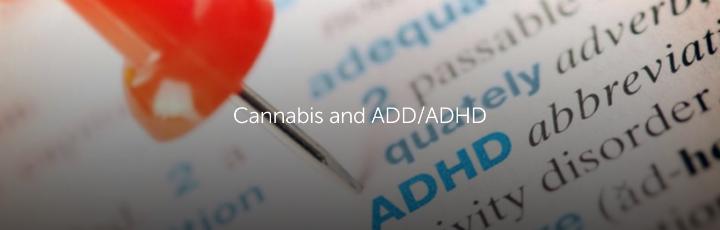 Cannabis and ADD/ADHD