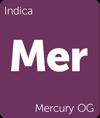 Leafly Mercury OG cannabis strain tile