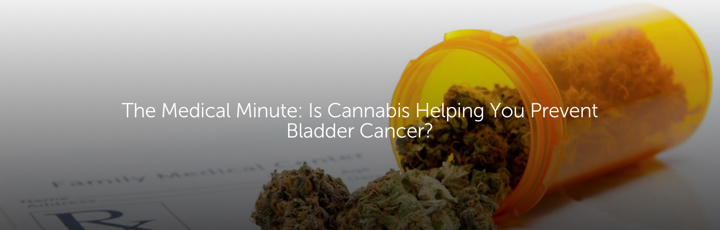 The Medical Minute: Is Cannabis Helping You Prevent Bladder Cancer?