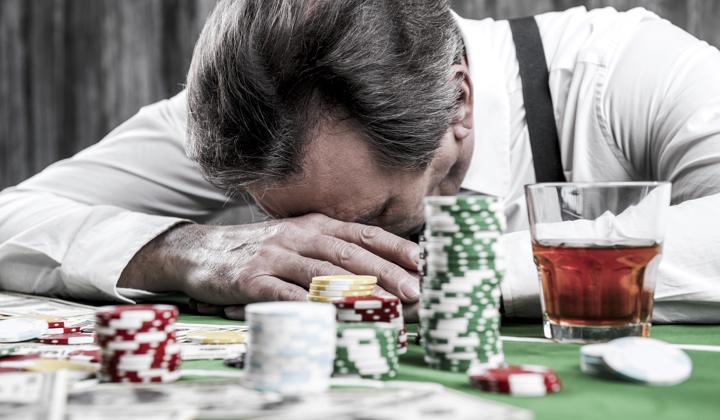 Impulsive gambler