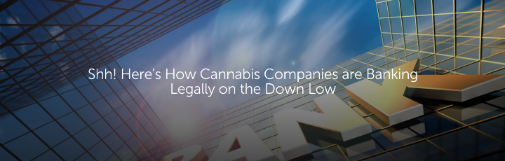 Shh! Here's How Cannabis Companies are Banking Legally on the Down Low