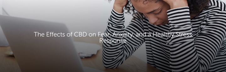 The Effects of CBD on Fear, Anxiety, and a Healthy Stress Response