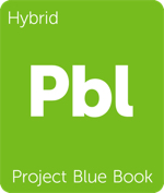 Leafly hybrid Project Blue Book cannabis strain tile