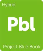 Leafly hybrid Project Blue Book cannabis strain tile