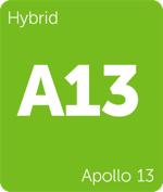 Leafly Apollo 13 hybrid cannabis strain tile