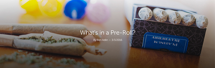 "Leafly ""What's in a Pre-Roll"" Header Image"