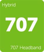 Leafly hybrid 707 Headband cannabis strain tile