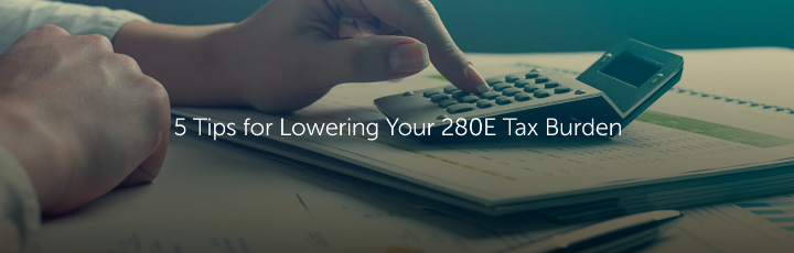 5 Tips for Lowering Your 280E Tax Burden