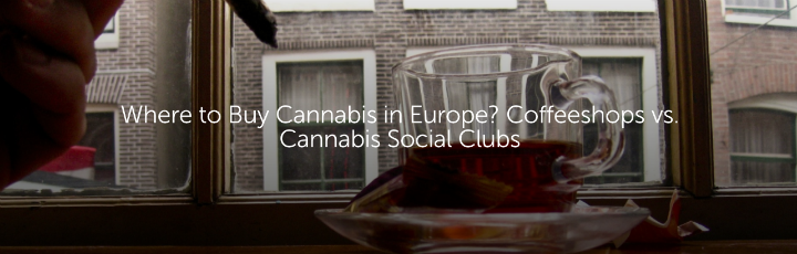 Where to Buy Cannabis in Europe? Coffeeshops vs. Cannabis Social Clubs