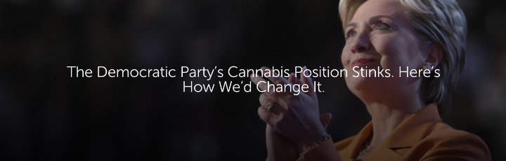 The Democratic Party's Cannabis Position Stinks. Here's How We'd Change It.