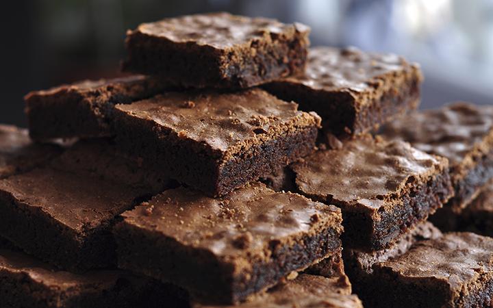 sugary brownies