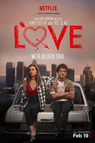 """Judd Apatow's """"Love"""" Poster"""