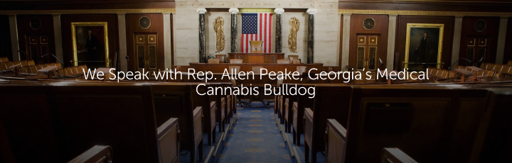 We Speak with Rep. Allen Peake, Georgia's Medical Cannabis Bulldog