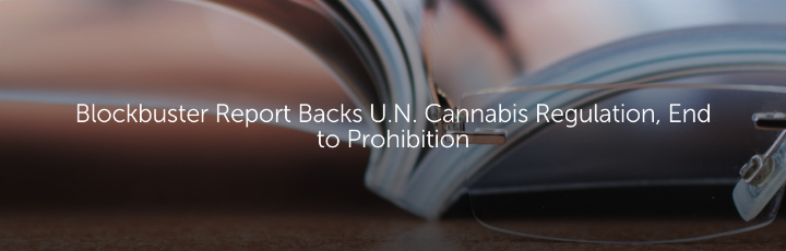 Blockbuster Report Backs U.N. Cannabis Regulation, End to Prohibition