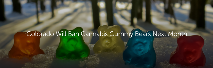 Colorado Will Ban Cannabis Gummy Bears Next Month