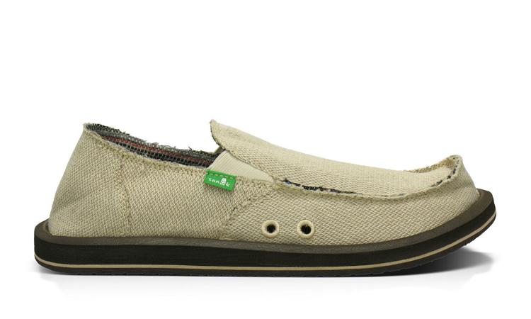 """Sanuk """"Sidewalk Surfers"""" hemp shoes"""