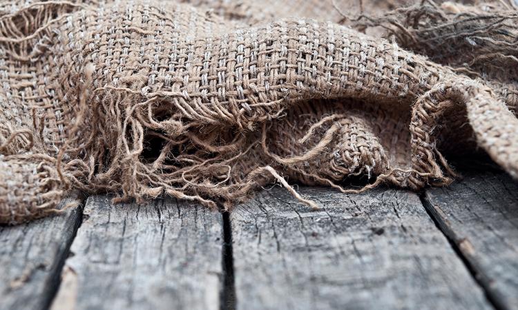 Woven hemp textile