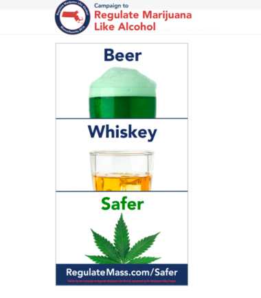 Campaign to Regulate Marijuana Like Alcohol ad