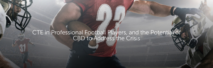 CTE in Professional Football Players, and the Potential of CBD to Address the Crisis