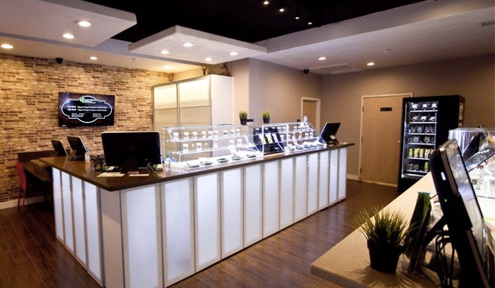 Herbal Wellness Center dispensary counter