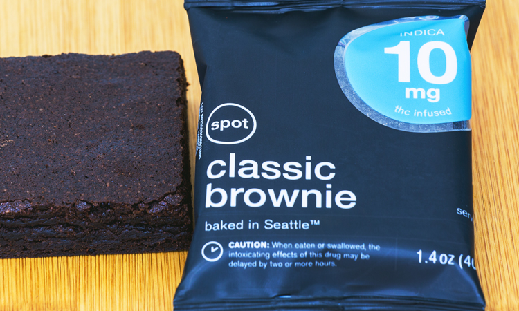 Baked in Seattle cannabis-infused brownie