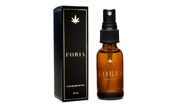Foria cannabis-infused pleasure spray