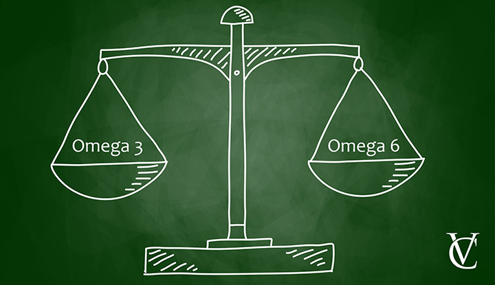 Balanced endocannabinoid system: omega-6 vs omega-6