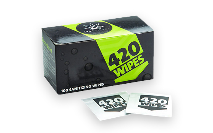 VapeXhale 420 wipes