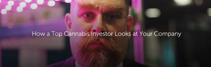 How a Top Cannabis Investor Looks at Your Company