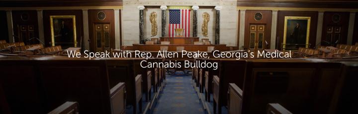 We Speak with Rep. Allen Peake, Georgia's Medical Cannabis Bulldog
