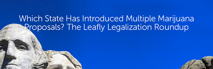 Which State Has Introduced Multiple Marijuana Proposals? The Leafly Legalization Roundup