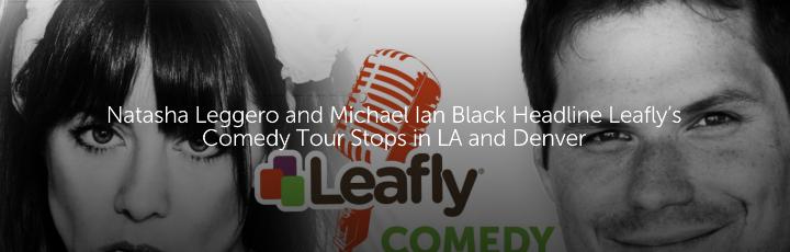 Natasha Leggero and Michael Ian Black Headline Leafly's Comedy Tour Stops in LA and Denver