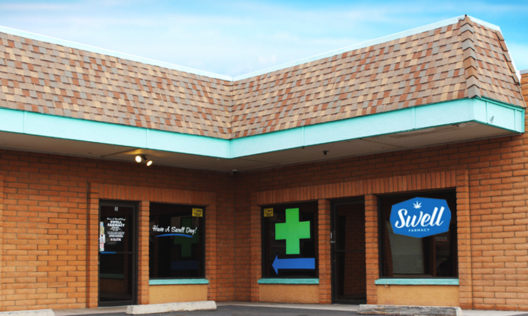 Swell Farmacy medical cannabis dispensary in Youngtown, Arizona