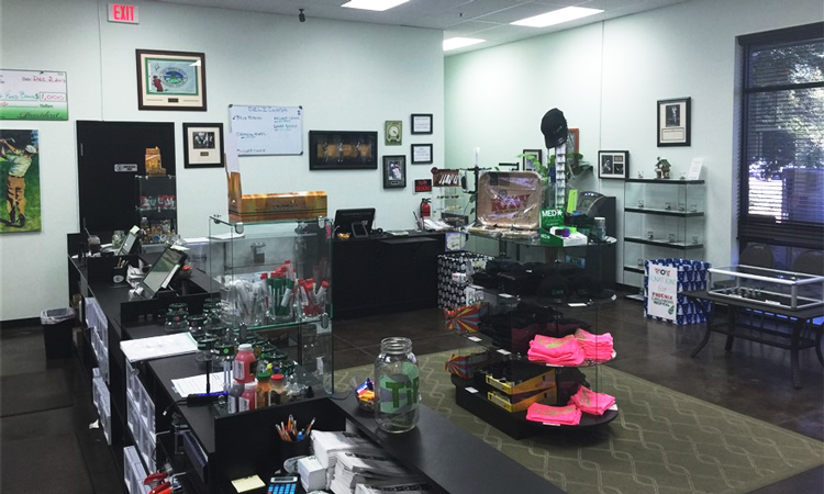 The Greenhouse medical cannabis dispensary in Glendale, Arizona