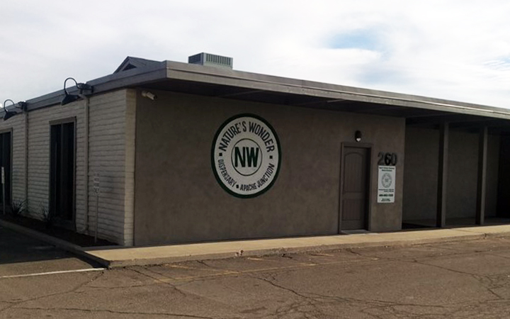 Nature's Wonder medical marijuana dispensary in Phoenix, Arizona