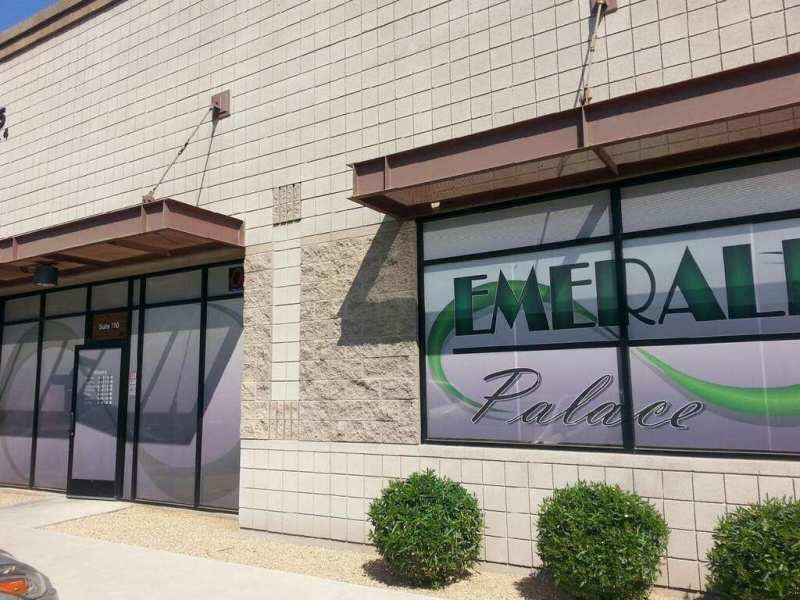 Emerald Palace medical marijuana dispensary in Gilbert, Arizona