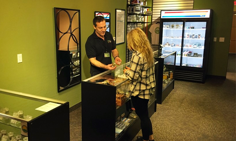 The Holistic Center medical marijuana dispensary in Phoenix, Arizona