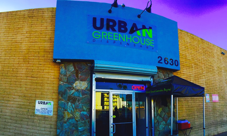 Urban Greenhouse medical marijuana dispensary in Phoenix, Arizona