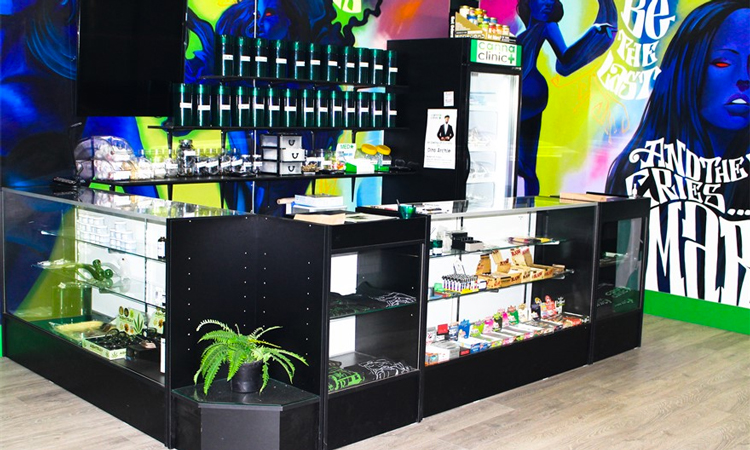 Canna Clinic Medicinal Society medical marijuana dispensary in Vancouver, British Columbia, Canada