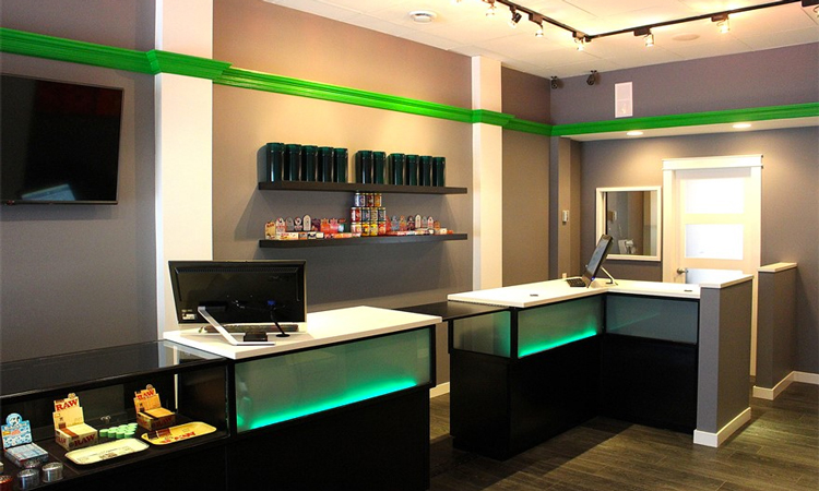 Cloud Nine Victoria medical marijuana dispensary in Victoria, British Columbia, Canada